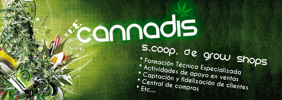 Cannadis cooperativa de grow shops